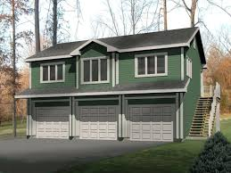 Garage Apartment Plans  Craftsmanstyle Garage Apartment Plan Two Story Garage Apartment