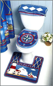 nautical bath rug bathroom rugs sets com