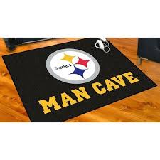 man cave rug black nylon man cave rug personalized man cave rugs