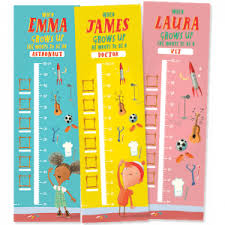 Free Personalised Height Chart Bargain Ireland