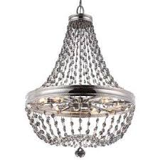 malia 12 light polished nickel large pendant