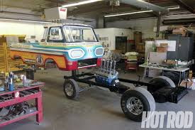 1965 Ford Econoline Pickup Truck | Ford Econoline Frame And Body ...