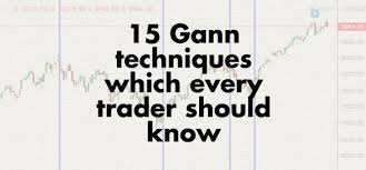 Techniques Of A Professional Commodity Chart Analyst 15 Gann Techniques Which Every Trader Should Know