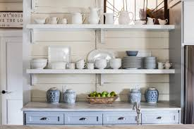Kitchen Island Open Shelves Racks Ikea Kitchen Shelves With Different Styles To Match Your