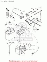 kawasaki bayou 400 wiring diagram wiring diagrams Schematic Diagram at 1994 Klf400b Wiring Diagram