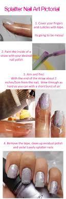 Indian Ocean Polish: Pastel Paint Splatter Nail Art Tutorial
