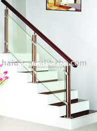 ss staircase railing glass 9