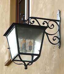classic wrought iron lighting