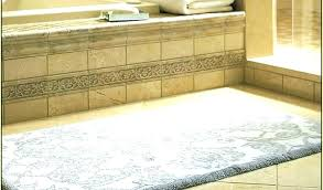 bathroom runner bath rug rugs collection in extra long cool target