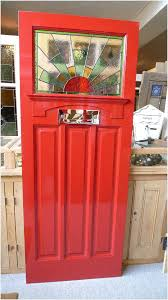 1930 s stained glass front door sunburst