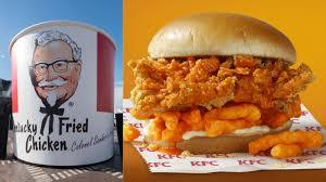 KFC testing Cheetos fried chicken sandwich in fortunate Southern ...