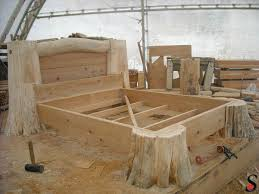 log furniture ideas. Log Style Bed Frame Best 25 Ideas On Pinterest Furniture -