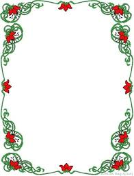 Free Border For Word Free Borders Templates Holidays Wizard Christmas Stationery Word