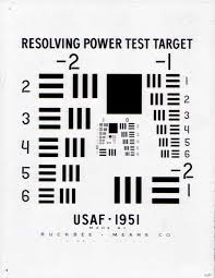 How To Read An Usaf1951 Target Optowiki Knowledge Base