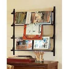 magazine rack wall mount:  images about wall mounted magazine rack on pinterest wall mount file system and the wall