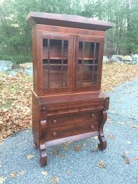 antique secretary desk with bookcase like this item antique oak secretary desk bookcase