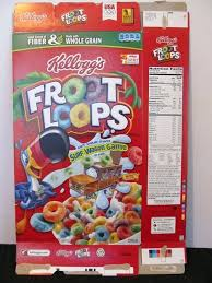 bowl of fruit loops calories loops bowl of fruit loops calories 1 serving of fruit loops