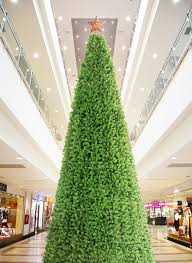 40 Foot Giant Commercial Artificial Christmas Tree With Warm White LED  Lights