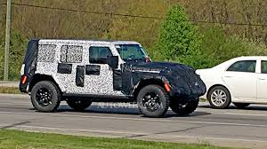 jeep new models 2018. unique new 2018 jeep wrangler spy photos  new shots to jeep models