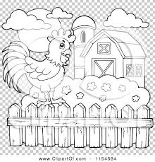 farm fence clipart black and white. Interesting Fence Farm Fence Clipart Black And White In A