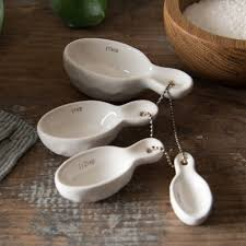 Decorative Measuring Spoons And Cups Ceramic Measuring Spoons Magnolia Market Chip Joanna Gaines