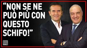 LA PORCHERIA DEL SISTEMA CLIENTELARE DELLA POLITICA ITALIANA ▻ Enrico  Michetti furioso in diretta - YouTube