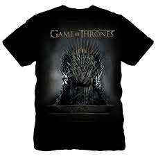game thrones iron. Game Of Thrones Iron Throne T-shirt CLEARANCE