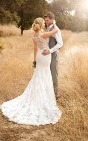 backless wedding dresses column backless wedding gown essense