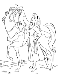 Small Picture Rapunzel And Sleeping Beauty Coloring Pages Coloring Coloring Pages