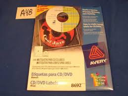 Avery Cd Labels A48 Avery Cd Labels Matte White 40 Disc Labels And 80 Spine Labels 8692