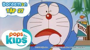 Doraemon Tập 27 - Xe Cảnh Sát Bảo Vệ Chính Nghĩa, Hơi Gas Tưởng Tượng -  Hoạt Hình Tiếng Việt