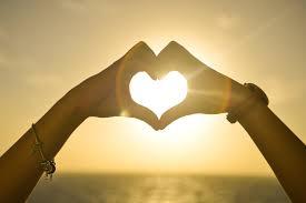 Wallpaper Love Heart Sunrise Hands 4k 8k Love 6664