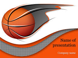 Basketball Powerpoint Template Basketball PowerPoint Template Background for Presentation 1