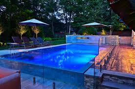 outside pool designs. perimeter overflow outdoor pool design ideas nj 300x199 outside designs l