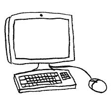 Pcパソコンのイラストpng えんぴつ素材