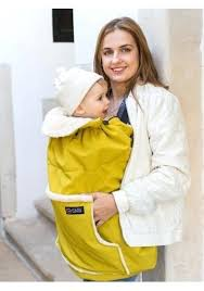 baby carrier winter cover winter cover yellow mellow baby bjorn ...