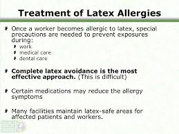 Latex Allergies. This overview will cover: Composition of latex ...