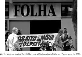 Resultado de imagem para ditadura folha de sao paulo imagens