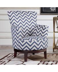 Blue Pattern Accent Chair Awesome Swivel Accent Chair Pertaining To Nathaniel Home London Free