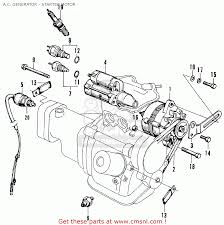 Honda n360 life kt kq ku a c generator starter motor schematic electronics schematics projects