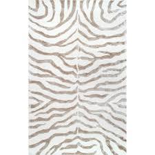 zebra area rug. NuLOOM Plush Zebra Grey 9 Ft. X 12 Area Rug E