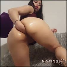 The first anal fisting