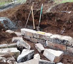 building stone retaining walls