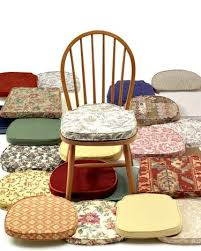 cool dining room chair cushions with ties home decor on intended seat cushion for kitchen chairs