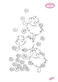 Small Picture Baby Annabell cute sheep colouring pages