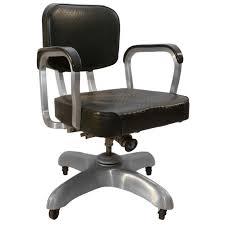 art deco office furniture. art deco industrial aluminum swivel adjustable desk chair 1 office furniture