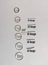 Lip Gauge Size Chart Pin On Remember