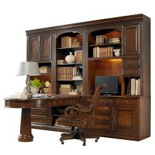 home office wall unit. Hooker Furniture European Renaissance II Office Wall Unit With Peninsula Desk - Item Number: 374 Home