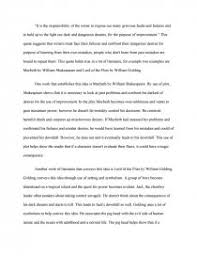 macbeth critical lens essay similar essays
