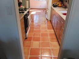cleaning ways for saltillo tiles